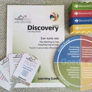 Insights Discovery pakket Boek een korte reis en leermaterialen